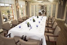 The Oak End, The Dining Room at Chewton Glen, perfect for private dining...