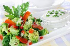 Broccoli salad Royalty Free Stock Photo