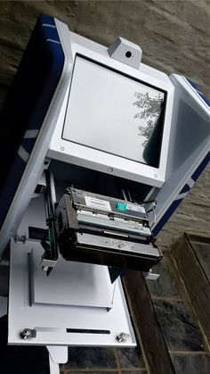 Stanbic self service kiosk on Behance Digital Kiosk, Digital Signage, Information Kiosk, Pos Design, Wat Pho, Thermal Printer, Self Service, Vending Machine, Cabinets