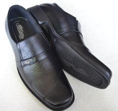 sepatu pantofel pria berbahan kulit (crocodile 002) Rp 185.000