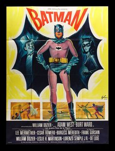 French poster for Batman (1966)