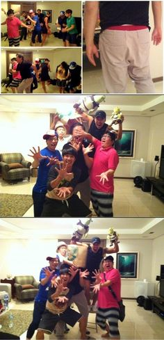 'Infinity Challenge' members hold a housewarming party for Jung Jun Ha