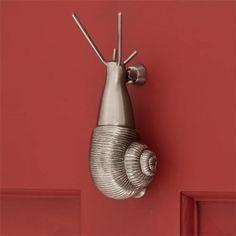 Brass Snail Door Knocker