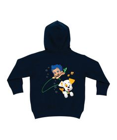 Look what I found on #zulily! Navy Bubble Guppies Personalized Zip-Up Hoodie - Toddler & Kids by Bubble Guppies #zulilyfinds