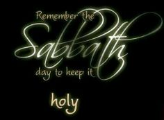 Ye shall keep the sabbath therefore; for it is holy unto you: every one that defileth it shall surely be put to death: for whosoever doeth any work therein, that soul shall be cut off from among his people. (Exo 31:14 KJV)