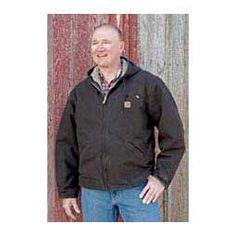 Sandstone Sierra Mens Jacket-Tall Dark Brown - Item # 14526