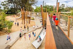 Adelaide-Zoo-Play-Space-Nature-WAX Design-01 « Landscape Architecture Works | Landezine