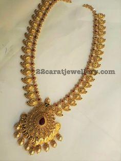 Sri Mahalaxmi Mango Mala - Jewellery Designs