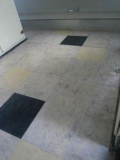 polished lino tiles