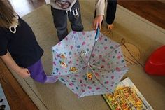 umbrella spin letter match
