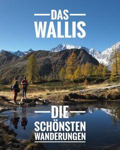 """Wallis – das Wanderparadies inmitten imposanter Alpenlandschaft. Die schönsten Wanderungen. """"Foto: Bergverlage Rother, Autoren Waeber & Steinbichler""""  #wandern #wanderwallis #walliswanderungen #wallistipps #wandernschweiz #wandereuropa #aktivimwallis #wandertippswallis #wandertippsschweiz Hiking Routes, Bergen, Trekking, Switzerland, National Parks, Wanderlust, Adventure, Mountains, Places"""