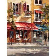 Casa Mia Italiano Canvas Art - Brent Heighton (18 x 24)