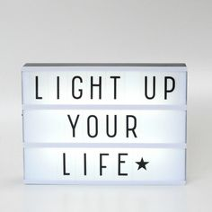 Lightbox from Pretty Little Party Shop - Stylish Party Led Light Box, Light Up, Mini Lightbox, Rose Gold Party Supplies, Plastic Letters, Light Letters, Party Shop, Childrens Party, Inspirational Message