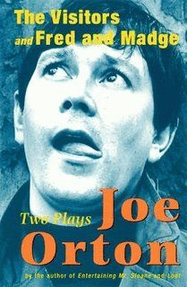 Joe Orton - The Visitors and Fred and Madge Book Authors, Books, Influential People, Playwright, The Visitors, Kinds Of People, Fiction, Entertaining, Cover