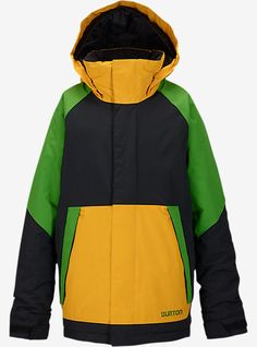 Burton Boys' Amped Jacket | Burton Snowboards Winter 15
