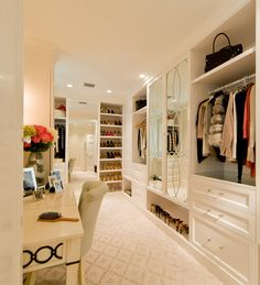 Transitional Space traditional-closet.