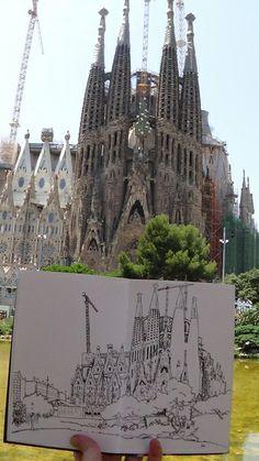 la sagrada familia, barcelona | Flickr - Photo Sharing!