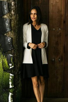 Sustainable clothing · Simple open-front cardigan with wide cuffs. Great  for travel or business casual dressing 5c4194561