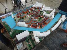 Op de Woonbeurs 2014 werden tal van projecten getoond in maquettes
