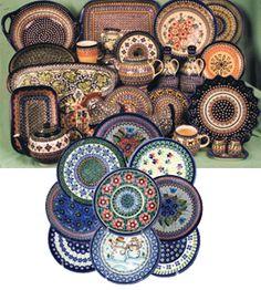 polish pottery.. i need more!