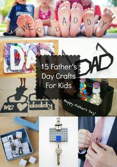 15 FATHERS DAY CRAFTS FOR KIDS - Daily Essential Magazine - Blog-led Family Focused Magazine Style
