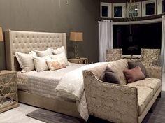 Bedroom by OP Jenkins Furniture and Design designer Jessica Wilkerson
