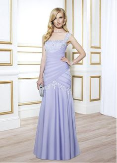 chic taffeta square neckline full length mermaid mother bride dresses