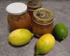Easy and fast lemon marmelade