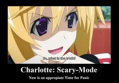 Interrogations of Infinite Stratos. Preformed by Charlotte and the highly intimidating Laura.