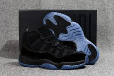 dddbba74c48 Air Jordan 11 Cap and Gown 2018 For Sale, This all-Black version of the Air  Jordan 11 pays homage to all the times the Jordan Brand signature shoe was  used ...
