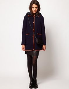 Whistles Tess Duffle Coat
