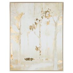 Get Frosted Forest Trees Framed Canvas Wall Art online or find other Canvas Art products from HobbyLobby.com