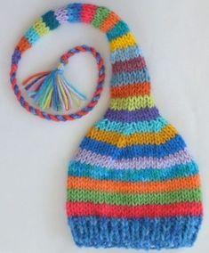 Baby Knitting Patterns, Baby Hats Knitting, Knitting For Kids, Loom Knitting, Knitting Projects, Crochet Projects, Hand Knitting, Knitted Hats, Crochet Patterns