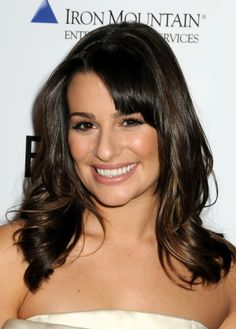 Lea Micheles gorgeous, wavy hairstyle