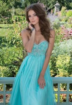 Strapless Long Dress with Beaded Empire   Camillelavie.com #weddings #bridesmaid #dresses #camillelavie