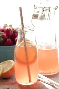 Homemade Berry Lemonade Kombucha - Live Simply
