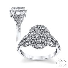 Cheers to a BRIGHT future together! Start the journey with this a Mosaic Collection diamond engagement ring that will be a shining symbol of your love. Robbins Brothers Sku: 0401041