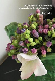 Hydrangea sugar flower tutorial with Lisa Templeton
