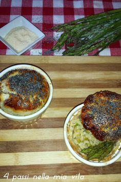 4 passi nella mia vita: Primi piatti: Cocottine di risotto agli asparagi i...
