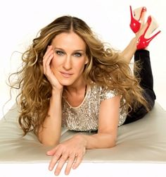 "Carrie Bradshaw aka Sarah Jessica Parker--both ""stars"" in their own right--I'm aware one of them is fictional  hahahaha"