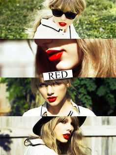 happy 1 year of red everybody :) im wearing my RED shirt and bracelets, I was wearing my red lipstick and I used my RED blanket last night!!! Hehe :)