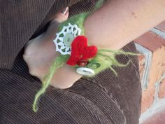 Grinch Cuff by czappit on Etsy, $13.00