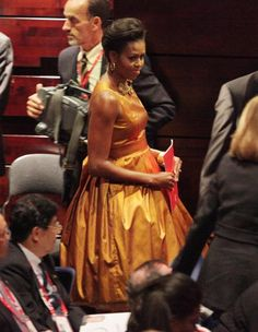 Michelle Obama looking as gorgeous as any First Lady has