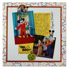 Disney and Friends    #scrapbooking