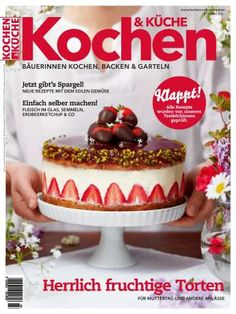 Kochen & Küche Ausgabe Magazin 3 / 2020 Superfood, Cheesecake, Pudding, Desserts, Choux Pastry, New Recipes, Tailgate Desserts, Deserts, Cheesecakes