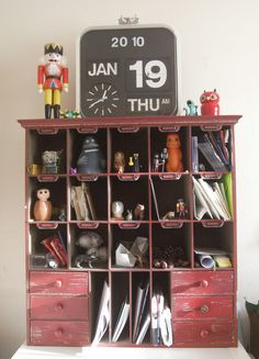 Storage unit via Peter & Sarah Slight