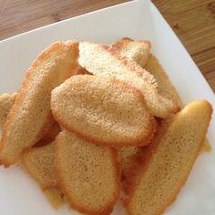 Recette Que faire avec 1 blanc d'oeuf ? Langues de chat par Chacha à la fraise - recette de la catégorie Desserts & Confiseries