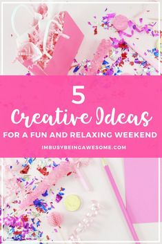 5 Fun And Creative Activities To Do This Weekend Creative Skills, Creative Activities, Activities To Do, Educational Activities, To Do This Weekend, Enjoy Your Weekend, Long Weekend, Romance Tips, Romance Quotes