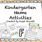 Kindergarten Name Activities will be a great resource to use in the beginning of the Year as your kinders work on getting to know one another and i. Kindergarten Name Activities, Alphabet Activities, Reading Activities, Kindergarten Classroom, Teaching Reading, Teaching Ideas, Classroom Ideas, School Daze, School Fun