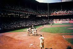 Ebbets Field (Brooklyn). (5-30-55)
